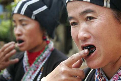black teeth tooth blackening the forgotten tradition traveldudes org