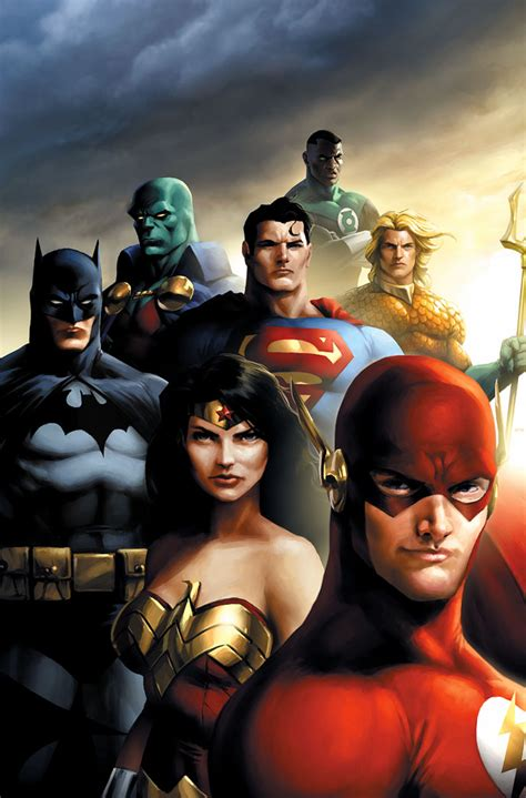libro justice league the art justice league by jprart on