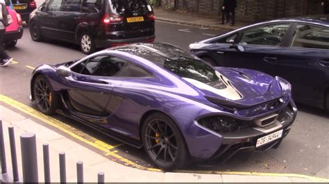 mclaren p1 purple carbon purple mclaren p1 driving in