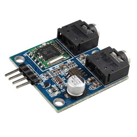 tea5767 fm stereo radio module for arduino blue black