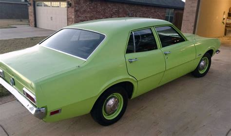 green ford maverick lean green machine 1971 ford maverick