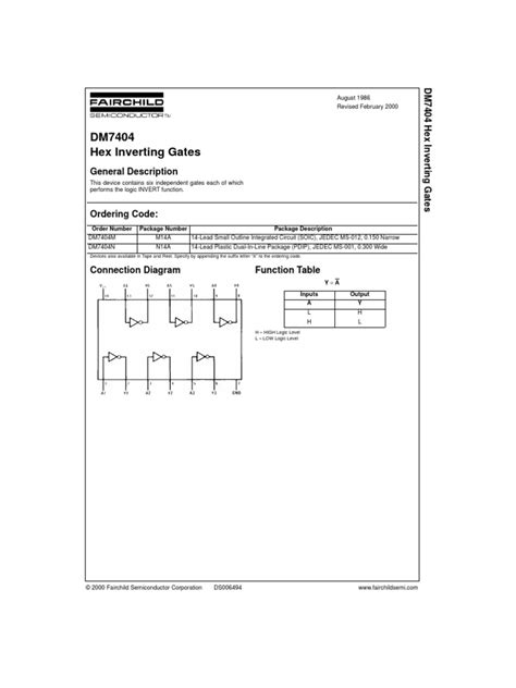 small outline integrated circuit 7404 datasheet www booknstuff com voltage electronic circuits