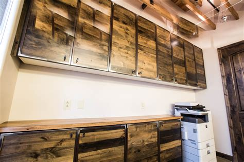 reclaimed wood kitchen cabinets for sale the spencer companies reclaimed barn wood cabinets