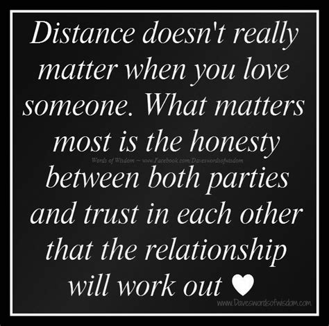 doesn t matter quotes about distance doesnt matter distance doesn t