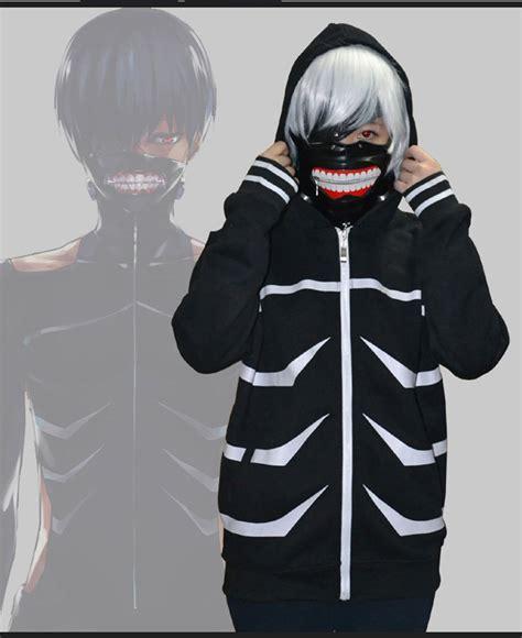 anime jacket anime tokyo ghoul kaneki ken hoodie costume cosplay jacket