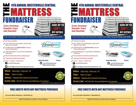 Mattress Fundraiser by Westerville Central Team Home Westerville Central