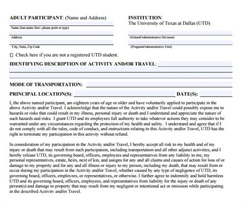 free indemnity form template 13 sle indemnity agreement templates sle templates