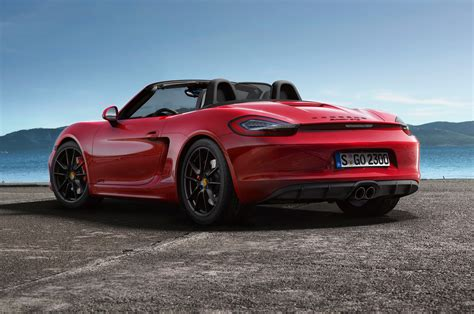 porsche boxter 2015 2015 porsche boxster gts rear side view photo 5
