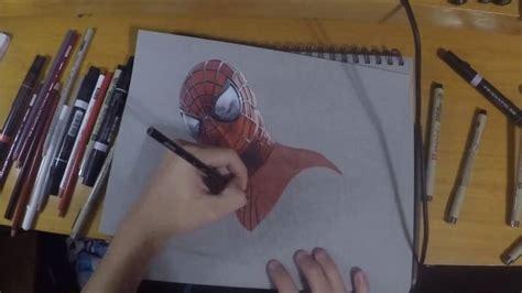 dibujos realistas youtube spiderman dibujo realista youtube