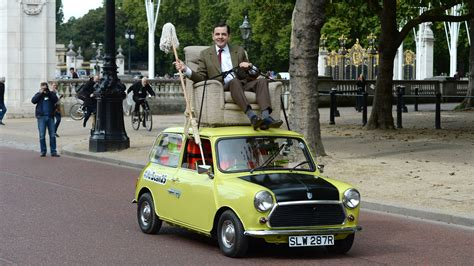 Mr Beans Auto by Mr Bean Takes His Mini For A Royal Spin For His 25th