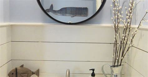 half size bathtub tiny half bath makeover hometalk