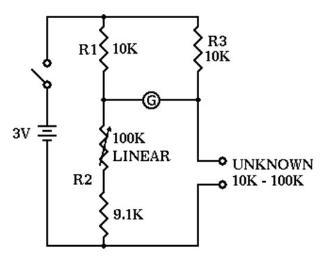 wheatstone bridge determine unknown resistance wiring diagram wheatstone bridge transformer diagram wiring diagrams gsmx co