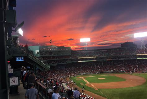 sunset  fenway park  night  incredible
