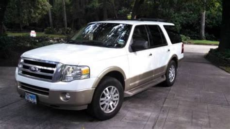 Expedition E6681 Leather Original 2 find used 2011 ford expedition xlt king ranch 4x4 leather towing pkg original owner in