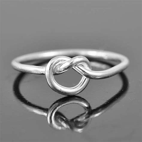 infinity ring infinity knot ring best friend ring by