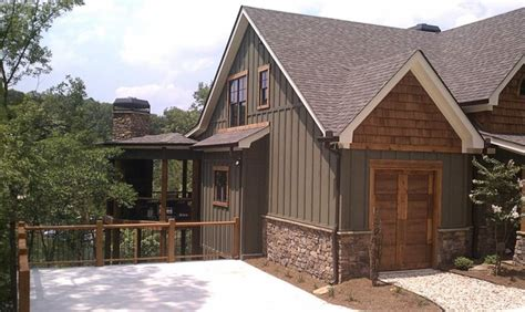 mountain house exterior paint colors asheville mountain home
