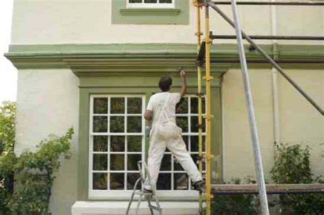 how to be a house painter painting a house how much paint will you need dty mother earth news