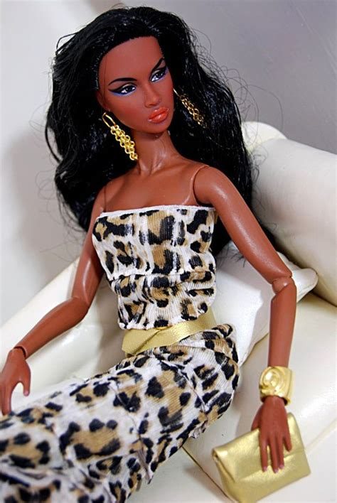 black jem doll 155 best black barbies in animal print images on