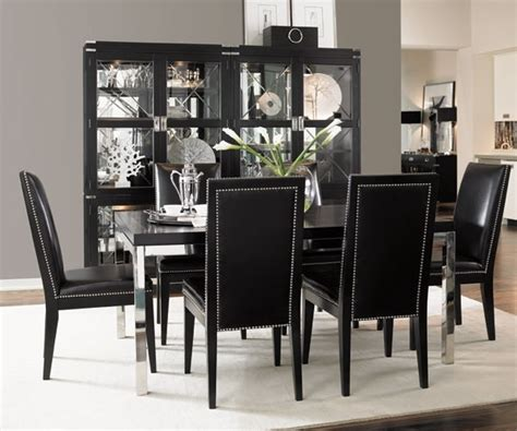50 dining room dеcor ideas how to use black color in a