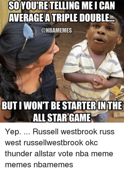 Okc Thunder Memes - funny russell westbrook memes of 2017 on sizzle basketball