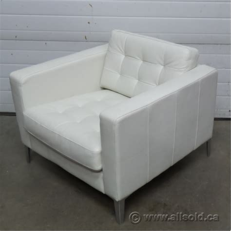 ikea white club chair ikea landskrona white leather reception lounge chair