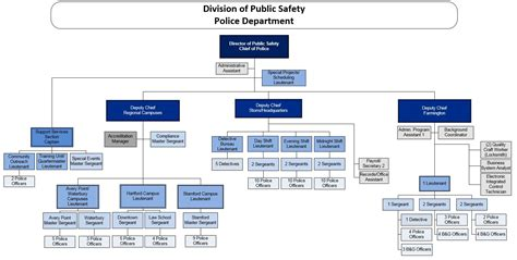 organizational chart organizational chart division of safety