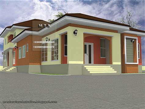bungalow house with 3 bedrooms 4 bedroom bungalow 3 bedroom duplex residential homes and public designs