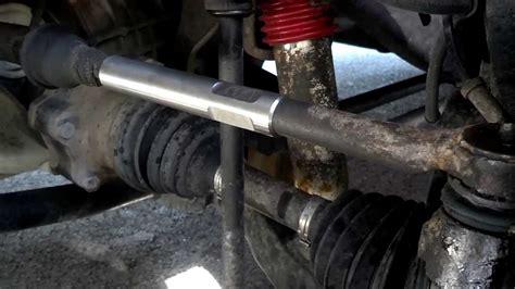 tie rod sleeves install on duramax part 2
