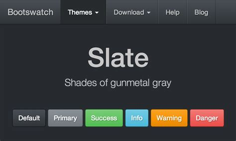 bootstrap themes background slate free bootstrap theme
