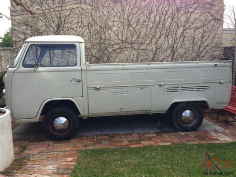 vw ute vw volkswagen 1973 kombi transporter pickup ute