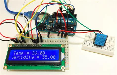 set   dht humidity sensor   arduino