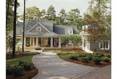 eplans cottage house plan cozy cottage with woodsy charm 1060 elevations on pinterest front porches southern living