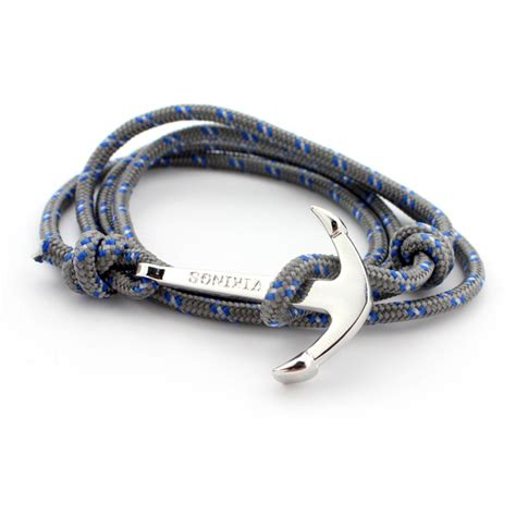 Gelang Tali Aquamarine 2 trendy bracelet bracelets fashion jewelry 80cm leather bracelet anchor bracelets for