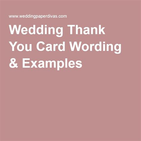 Wedding Thank You Card Wording Template by Best 25 Thank You Card Wording Ideas On