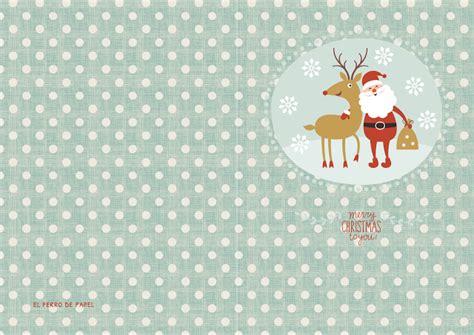felicitaciones de navidad imprimibles gratis paperblog
