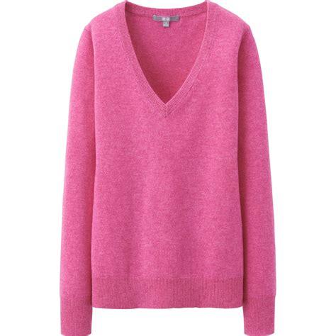 shop len 193 o len l 244 ng cừu uniqlo nữ m 224 u hồng