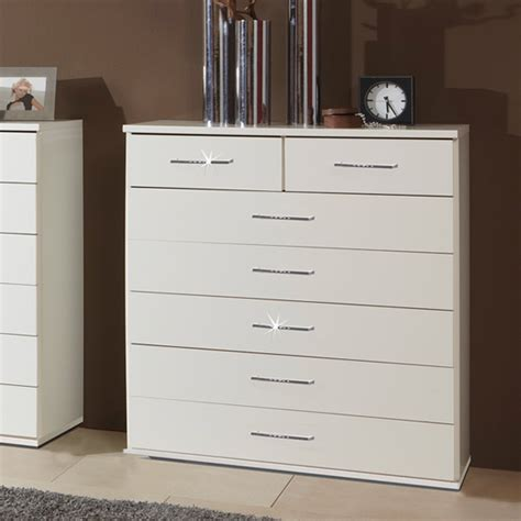 Cheap White Chester Drawers by Buy Cheap Chest Of Drawers White Compare Furniture