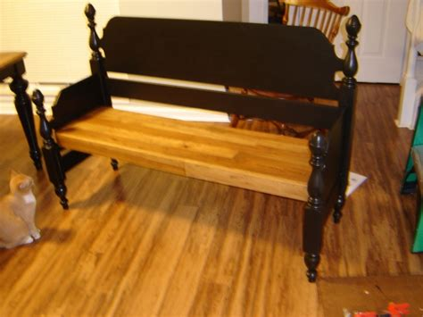 benches made from old beds 17 best images about bed frames to benches on pinterest