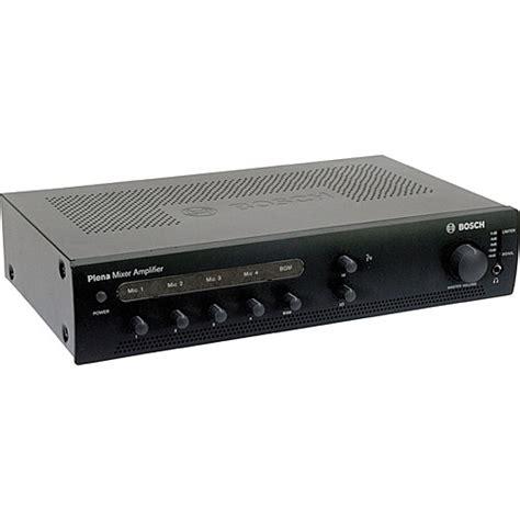 Mixer Audio Bosch bosch ple 1me60 us plena mixer lifier f 01u 213 775 b h photo