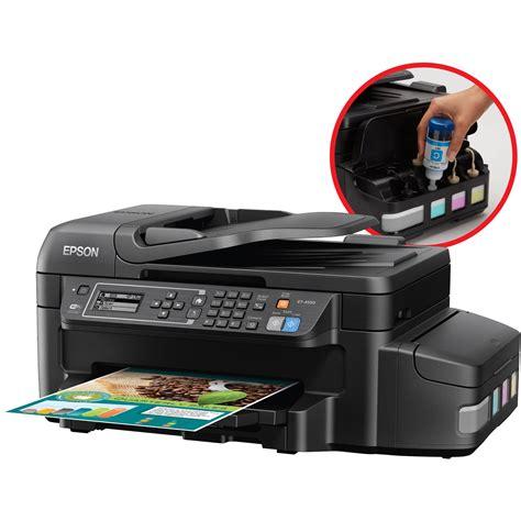 Printer Epson All In One Murah epson workforce et 4550 ecotank all in one inkjet c11ce71201 b h