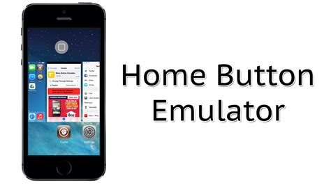 get a home button on screen home button emulator cydia