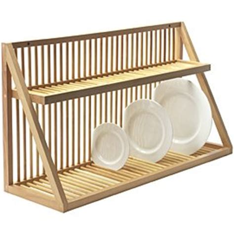 wall mounted wooden plate rack large co uk