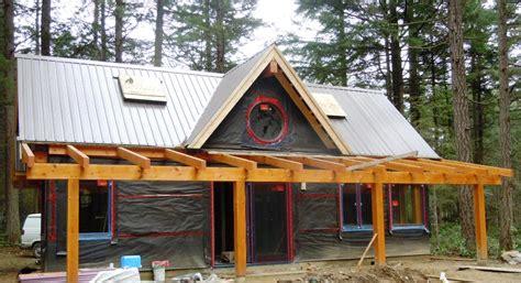 chelwood cabin timber frame plans 695sqft streamline chelwood cabin progress pictures streamline design