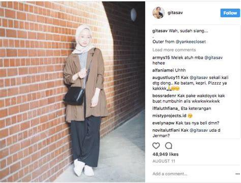 Safari Cokelat Panjang contek 8 style selebgram memakai celana kulot