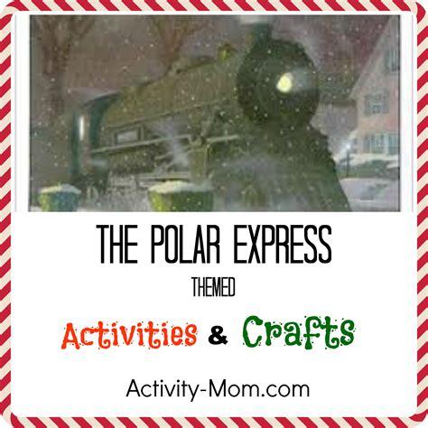 polar express crafts for the activity polar express themed activities the