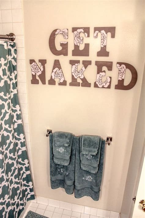 bathroom wall writing 25 best ideas about decorative wall letters on pinterest