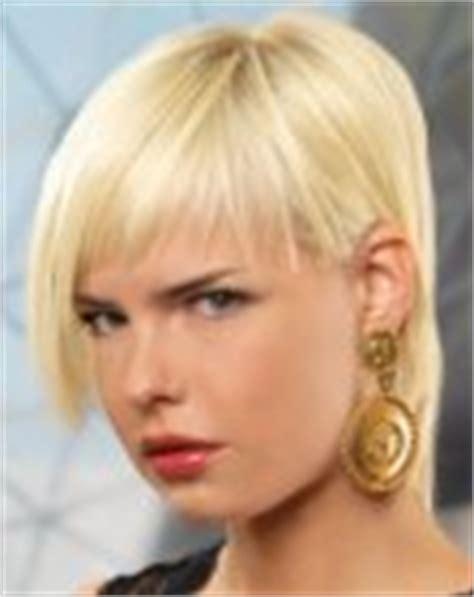 haircut with irregular length hair cut with choppy and irregular length and a long neck