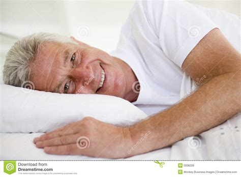 lying in bed man lying in bed royalty free stock images image 5938209