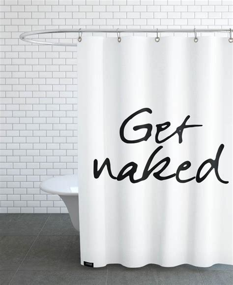 get naked shower curtain get naked as shower curtain by juniqe juniqe