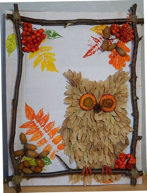 autumn craft projects ideas autumn crafts with house